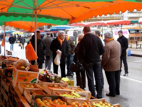 Hémoglyc sera présent dimanche 18 juillet sur le marché de la Croisille sur Briance de 8h00 à 12h