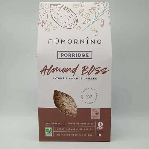 Porridge Almond Bliss Avoine Amande Grillée