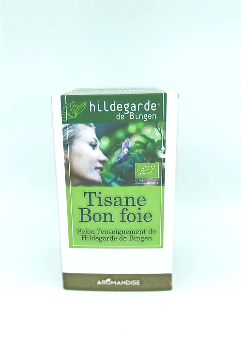 Tisane Bon Foie Hildegarde de Bingen