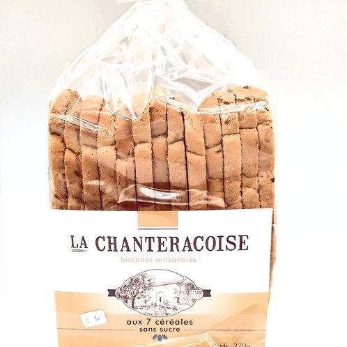 Biscottes la Chantrecroise  aux 7 Céréales Sans Sucre