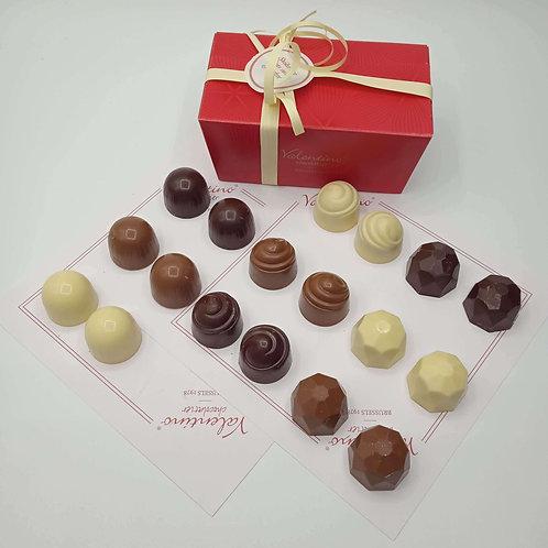 Ballotin Assortiment de 16 Chocolats Sans Sucre