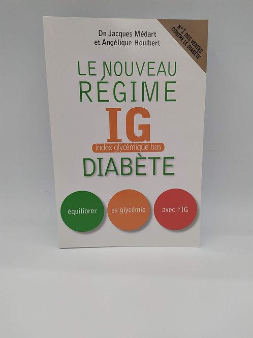 Livre le Nouveau Régime I.G bas Diabète