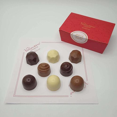 Ballotin Assortiment de 8 Chocolats Sans Sucre