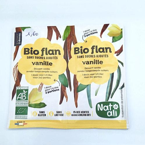 Bio Flan Vanille Sans Sucre Ajouté Sans Gluten Sans Lactose