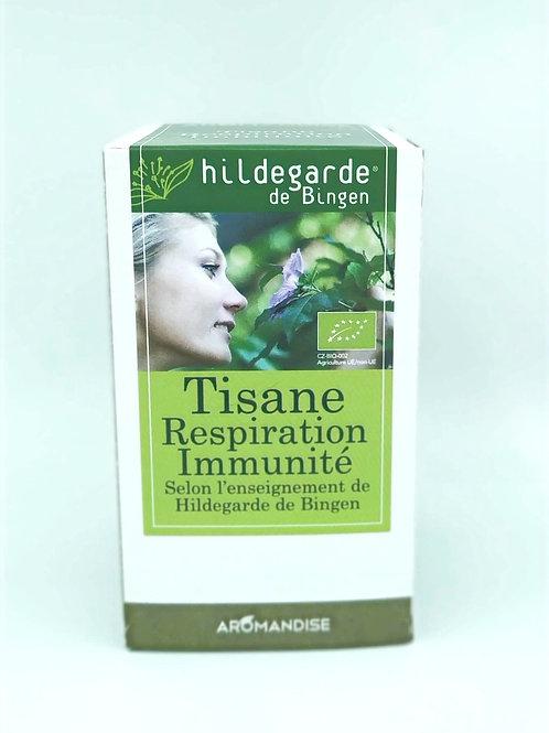 Tisane Respiration Immunité Hildegarde Bingen