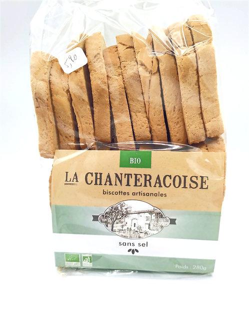 Biscottes la Chantrecroise Sans Sel