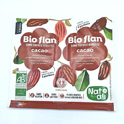 Bio Flan Cacao Sans Sucre Ajouté