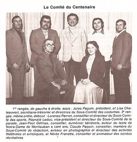 Comité du centenaire