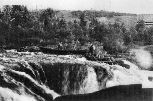 Draveurs sur la Batiscan