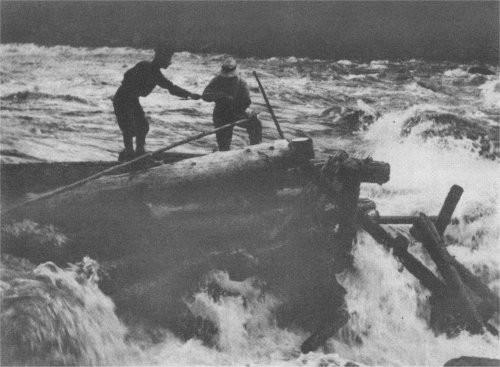 Draveurs sur la Batiscan (fini des années 20)