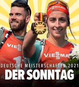 Vanessa Voigt & Matthias Dorfer - Deutsche Meister 2021 in der Verfolgung