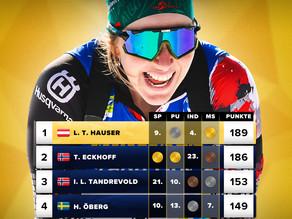 Punktbeste bei den Biathlon Weltmeisterschaften 2021