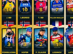 Diese Herren stehen in den Weltcupeinzelrennen im Biathlon 2020/21 auf dem Podest