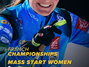 Nationale Biathlonmeisterschaften in Frankreich
