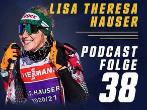 Lisa Theresa Hauser - PODCASTFOLGE 38