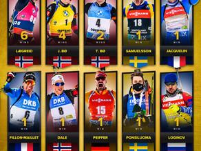 Sieger der aktuellen Biathlon-Saison