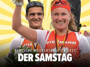 Deutsche Meister 2021 im Sprint - Janina Hettich & Marco Groß