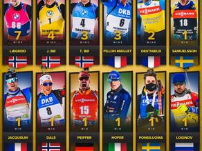 Sieger der Weltcupeinzelrennen im Biathlon 2020/21