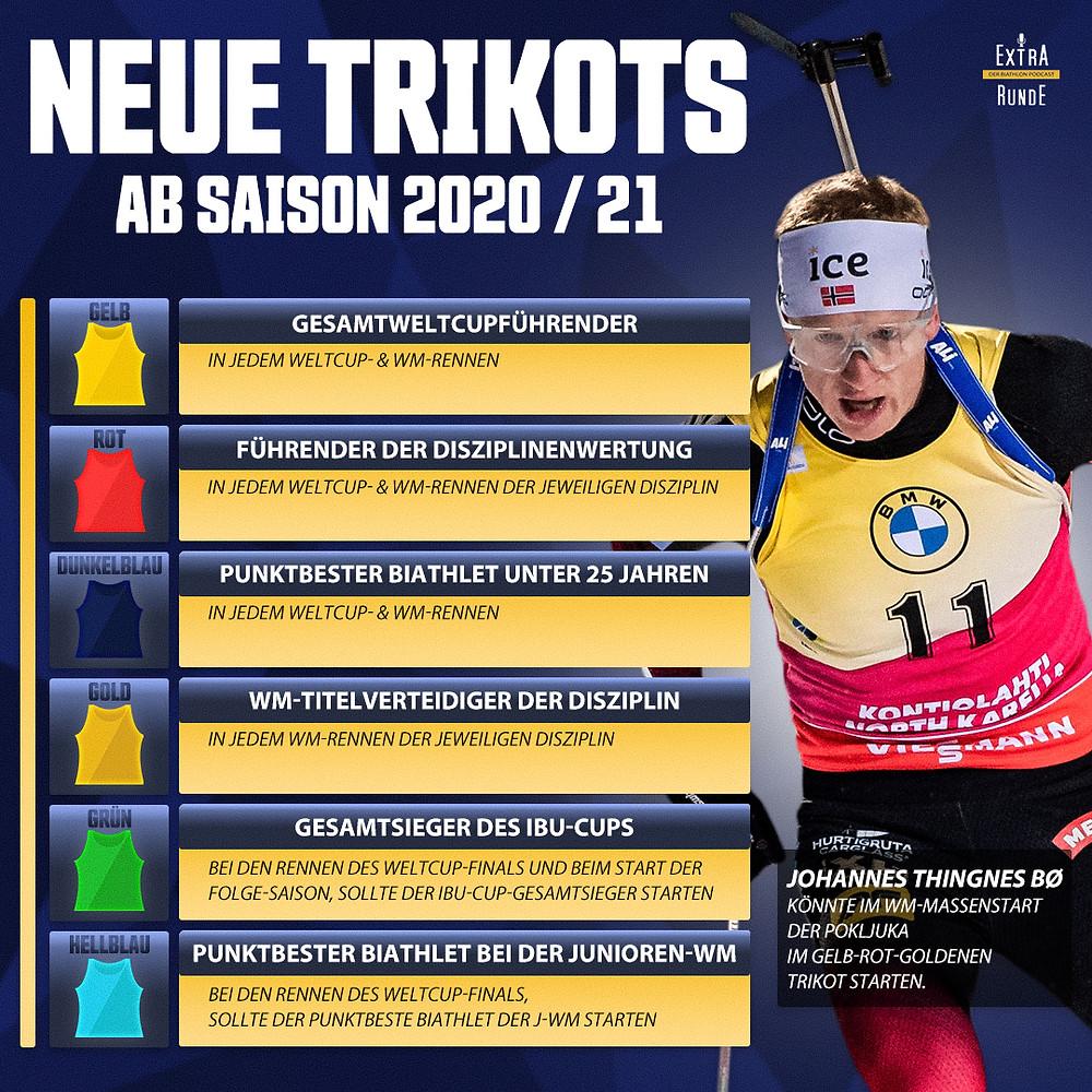 Die neuen Biathlontrikots