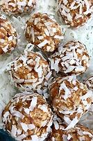 Vegan coconut Balls