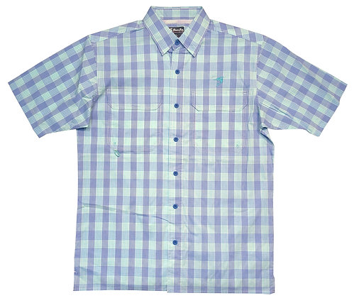 Pine Island Plaid Short Sleeve Shirt