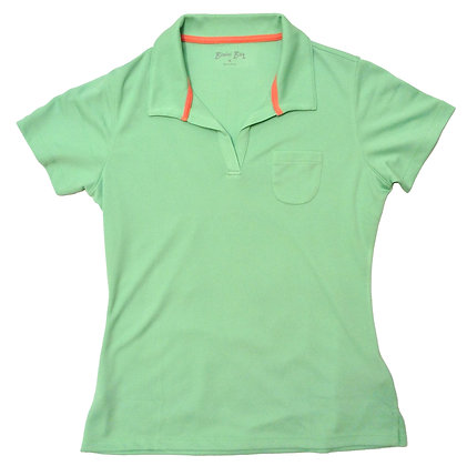 Women's Oasis Birdseye Polo Shirt