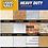 Thumbnail: 28-fl oz Heavy Duty Construction Adhesive; Needed: 12 tubes