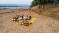 GWS Fly Camp in Runde Riverbed