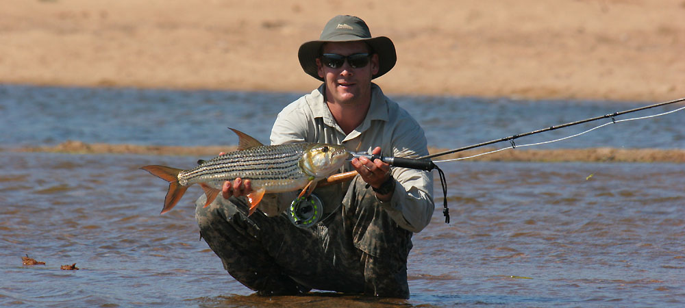 Nice Tigerfish on fly