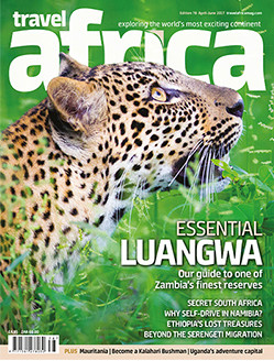 Travel Africa March 2017 cover