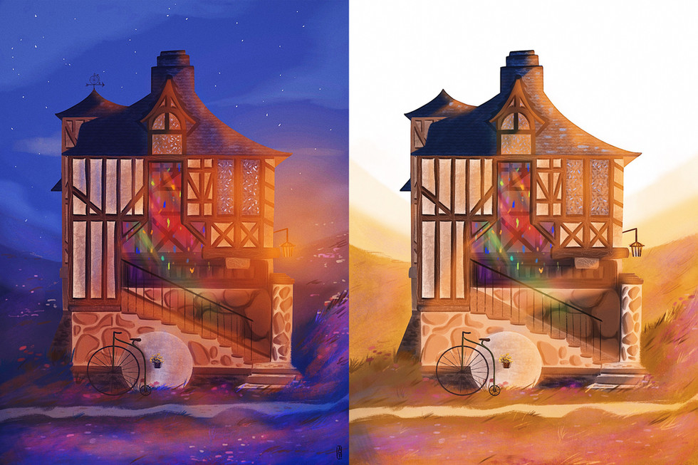 day and night cottage