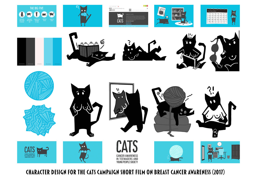 The Cats Campaign (2017) character design