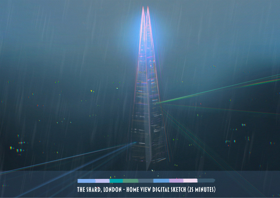 the shard - color study