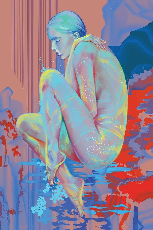 "Serenity - Digital Print 8"" x 10"""