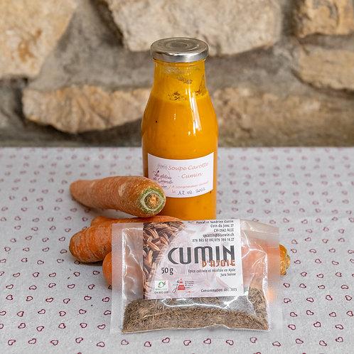 Soupe Carotte-cumin