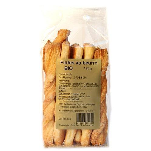 Flûtes salées et crackers