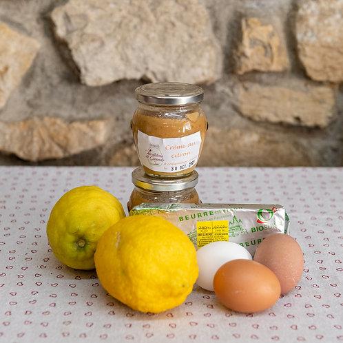 Crème au citron