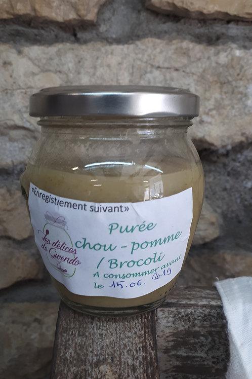 Purée Chou-pomme - broccoli Bio