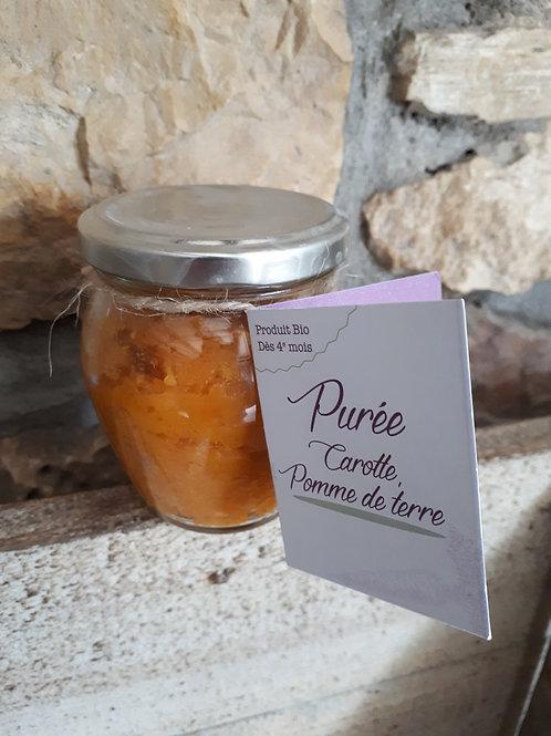 Purée Carotte - Pomme de terre Bio Bourgeon