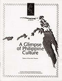 A Glimpse of Philippine Culture - 1996