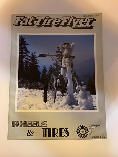 Fat Tire Flyer Magazine Volume 6 no5 Nov/Dec 1986