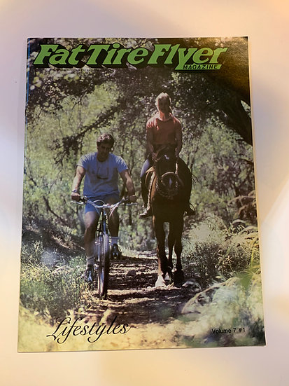 Fat Tire Flyer Magazine Volume 7 no1 Jan/Feb 1986