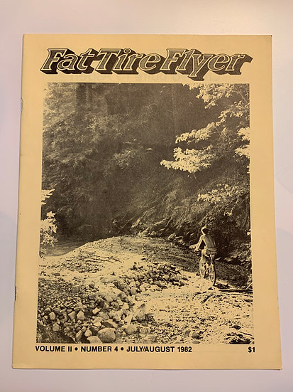 Fat Tire Flyer Magazine Volume ll No4 July/August 1982