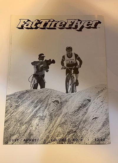 Fat Tire Flyer Volume 3 no4 July/Aug 1983
