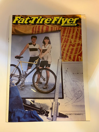 Fat Tire Flyer Magazine Volume 6 no3 May/June 1986