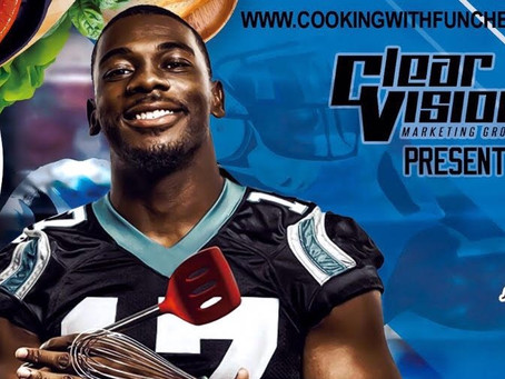 Carolina Panthers Devin Funchess hosts 2018 cooking competition and toy drive