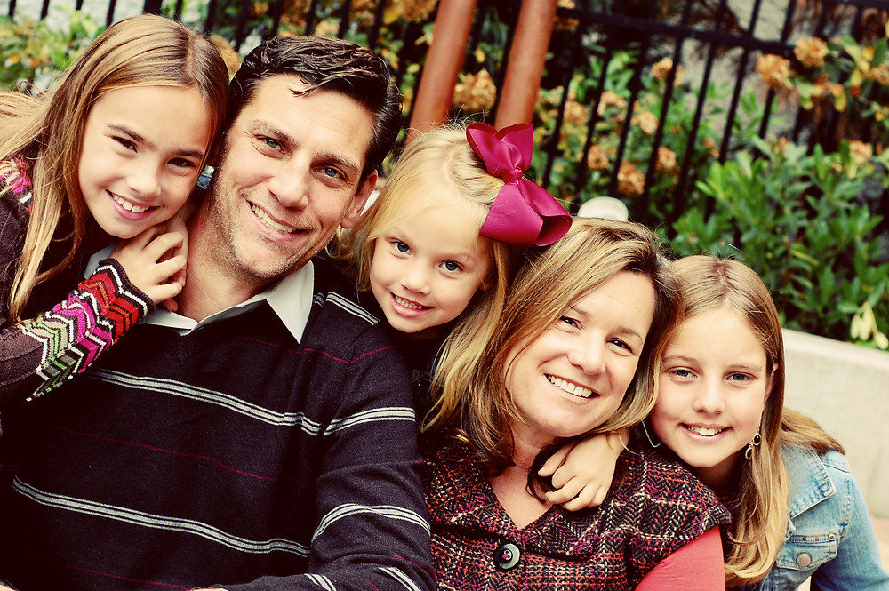 April's family