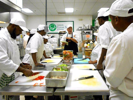 Chef Ron Ahlert of Community Culinary School of Charlotte shares his recipe for giving back