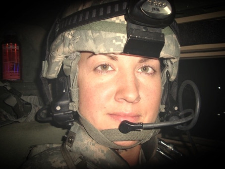 Jessica Harris, a veteran who gives back to other veterans