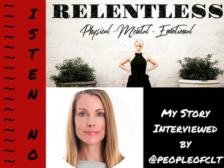 The Relentless Podcast with Sandra Weber: the whole (body) story